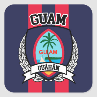 Guam Square Sticker