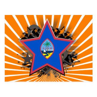 Guam Star Postcard