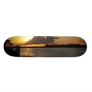 Guam Sunset Skateboard Deck
