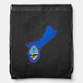 Guamanian Trip Souvenir Drawstring Bag