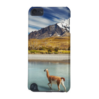 Guanaco crossing the river in Torres del Paine iPod Touch 5G Cases