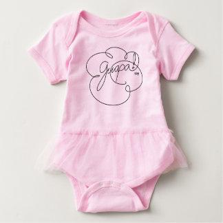 GUAPA soy - Bold CloudS Baby Bodysuit