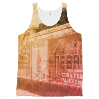 Guarani Advert 1920s Brazil Photo Tropical Beach All-Over-Print Tank Top