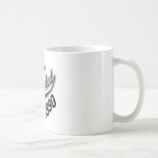 Guaranteed 100% Established 1990 Coffee Mug