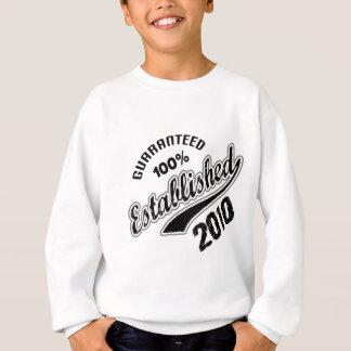 Guaranteed 100% Established 2010 Sweatshirt