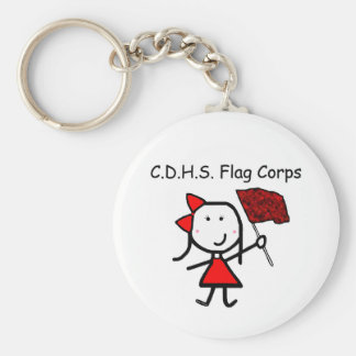 Guard - C.D.H.S. Flag Corps Keychain