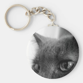 Guard Cat Keychain
