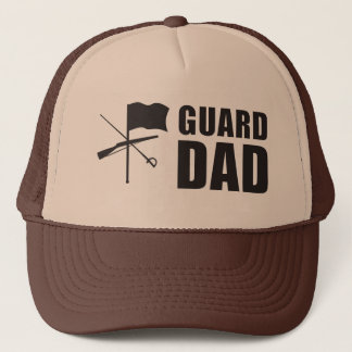 Guard Dad Trucker Hat Two-Tone