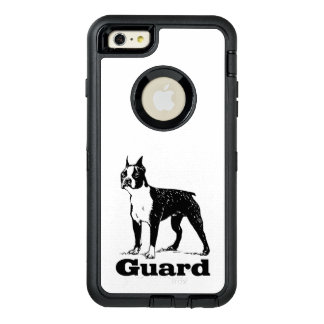 Guard Dog Boston Terrier OtterBox iPhone 6/6s Plus Case
