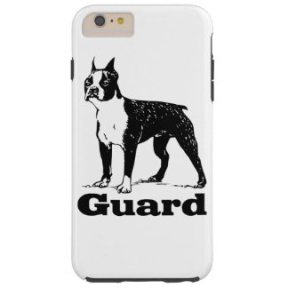Guard Dog Boston Terrier Tough iPhone 6 Plus Case