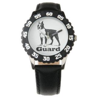 Guard Dog Boston Terrier Wristwatch