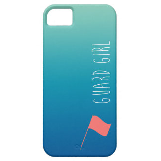 """Guard Girl"" with Flag Colorguard Case For The iPhone 5"
