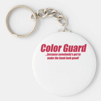 guard looks good keychain
