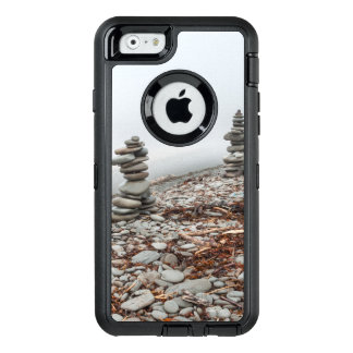 Guard of cellular, box, photo inukshuk OtterBox defender iPhone case