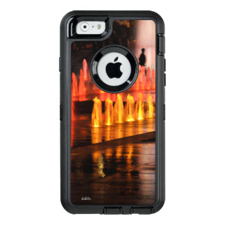 Guard of cellular photograph, outlines man OtterBox defender iPhone case