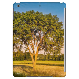 Guard of ipad photo tree in fields case for iPad air