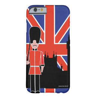 GUARD OFF LODON BARELY THERE iPhone 6 CASE