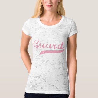 Guard Pink Burnout T-shirt