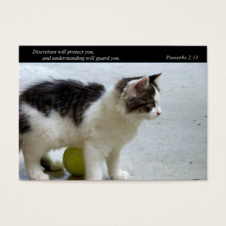 Guard You (Cat) Business or Calling Cards
