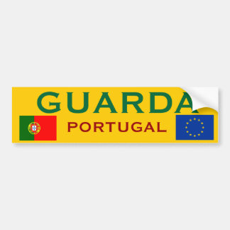 Guarda (Portugal) Bumper Sticker