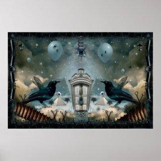 Guarded Door Of The Inner Psyche Poster
