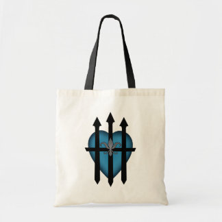 Guarded heart tote bag
