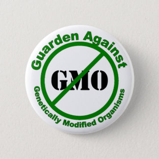 Guarden Against GMO 2 Inch Round Button