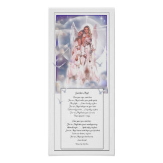 Guardian Angel and Poetry Poster