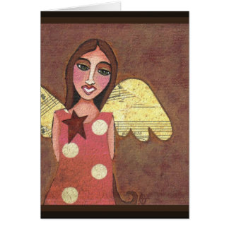 GUARDIAN ANGEL - angelic greeting card