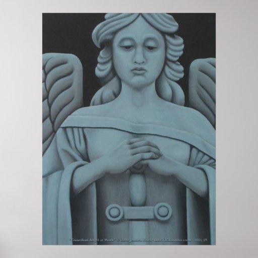 Guardian Angel at Work Print