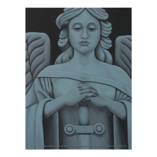 Guardian Angel at Work Print