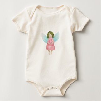 Guardian angel baby bodysuit