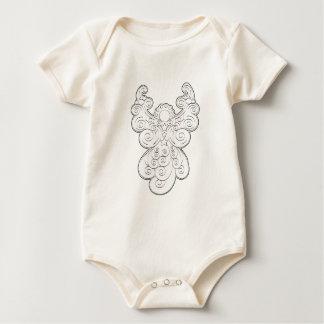Guardian angel baby bodysuit