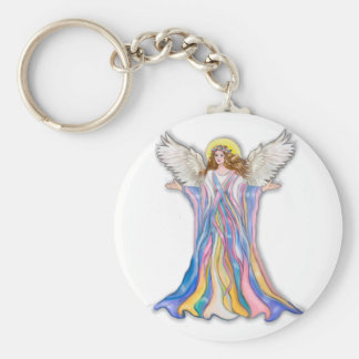 Guardian Angel Blessing Keychain