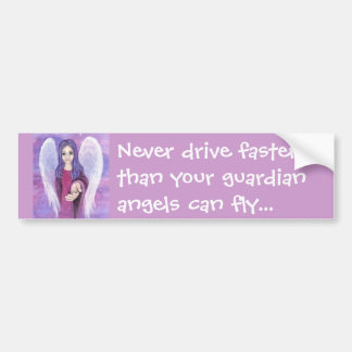 Guardian Angel Bumper Sticker