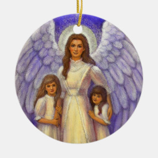 """Guardian Angel"" Christmas Ornament"