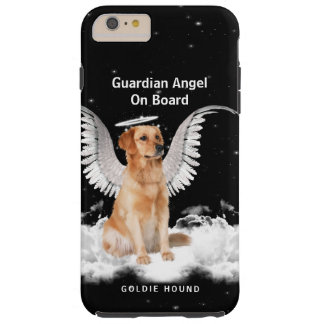 Guardian Angel Golden Retreiver with Wings Tough iPhone 6 Plus Case