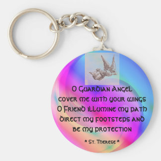 Guardian Angel keychain