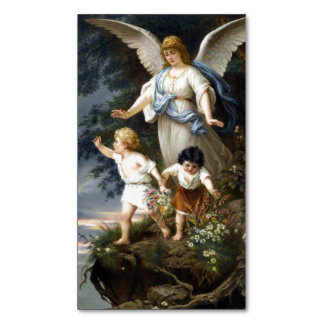 Guardian Angel Magnetic Holy Card (Pack of 25)