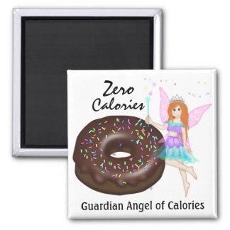 Guardian Angel of Calories by SRF Fridge Magnet