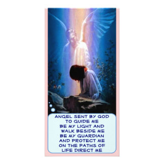 Guardian Angel photo card