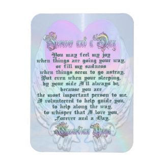 Guardian Angel Poem Magnet