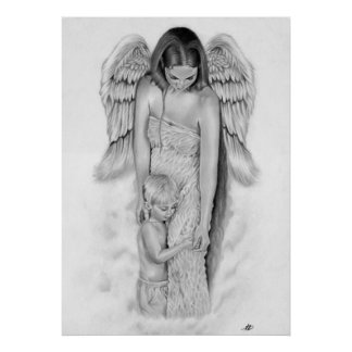 Guardian Angel Poster/ Print