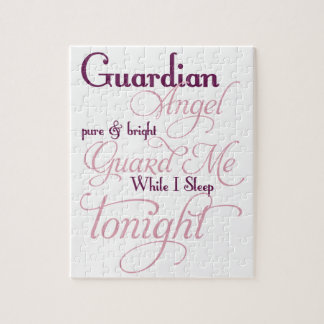 Guardian Angel Prayer Jigsaw Puzzle