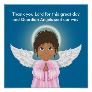 Guardian Angel Prayer Poster - SRF