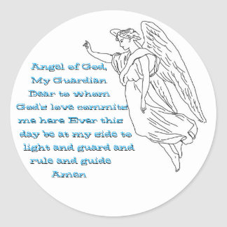 Guardian Angel stickers