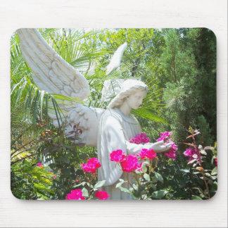 Guardian Angel Tropical Garden MousePad Photo Art