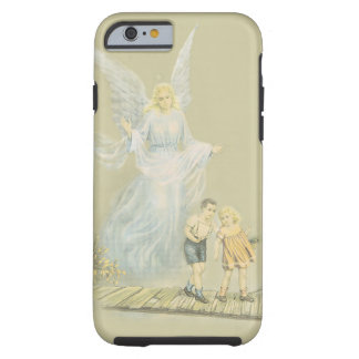 Guardian Angel watching over the children Tough iPhone 6 Case