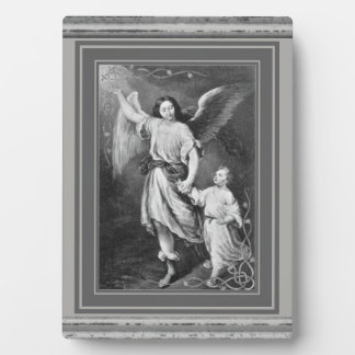 Guardian Angel With Child Plaque