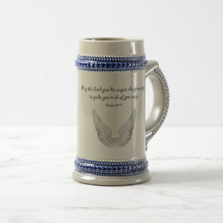 guardian angels beer stein